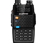 cheap -BAOFENG UV-5R 4TH Walkie Talkie Handheld Digital Voice Prompt Dual Band Dual Display Dual Standby CTCSS/CDCSS LCD Display FM Radio