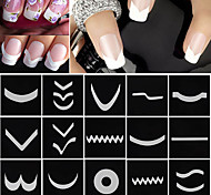 cheap -18 Pattern Stickers & Tapes Nail Polish Kit Trendy Nail Art Design Nail Jewelry Trendy