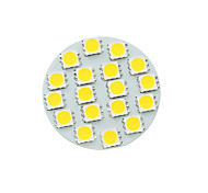 cheap -SENCART 5W 450-480 lm G4 LED Spotlight MR11 18 leds SMD 5730 Dimmable Warm White Cold White Natural White DC 12V