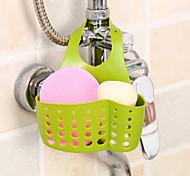 Adjustable Snap Sponge Faucet Storage Rack Drain Bag