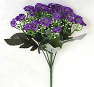 Недорогие -Искусственные Цветы 1 Простой стиль Орхидеи Букеты на стол / Не включено
