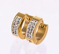 Herrn Ohrstecker Kreolen Modeschmuck Diamantimitate Schmuck Für Hochzeit Party Alltag Normal Weihnachts Geschenke