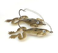 cheap -4 pcs Fishing Lures Frog Soft Plastic Sea Fishing Spinning Freshwater Fishing General Fishing Lure Fishing Bass Fishing