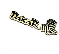 популярные 3D Ралли Дакар гонки значок металла наклейки высокое качество автомобиля декора наклейки автомобиль ремонт эмблема
