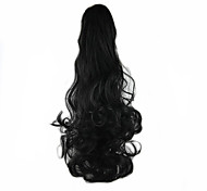 cheap -Clip In Ponytails Bear Claw/Jaw Clip Synthetic Hair Hair Piece Hair Extension Wavy