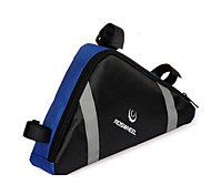 cheap -ROSWHEEL Bike Bag 2.2L Bike Frame Bag Moistureproof/Moisture Permeability Waterproof Zipper Wearable Shockproof Bicycle Bag Cloth PVC