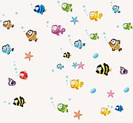 Недорогие -Животные Натюрморт Мода Мультипликация Отдых Наклейки Простые наклейки Декоративные наклейки на стены Наклейки на холодильник, ПВХ