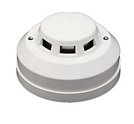 Photoelectric Fire Smoke Detector Wired Alarm Sensor Output NO/NC DC12V Sensitivity Adjustable for Home Security