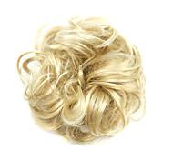 Недорогие -Шиньоны Парики из искусственных волос Кудрявый Классика Стрижка каскад Высокое качество плотность Машинное плетение Жен. Парики для