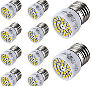 E26/E27 LED Spotlight T 24 SMD 2835 300 lm Warm White Cold White 3000/6000 K Decorative AC 220-240 V
