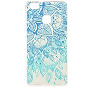 Green Blue Pattern TPU Soft Case Phone Case for Huawei Series Model