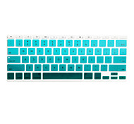 cheap -Colorful Silicone Keyboard Cover Skin for MacBook Air 11.6/13.3, MacBook Pro 13.3/15.4,US version
