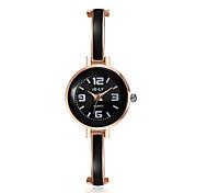 2016 Jewelora Luxury Noble Black Quartz 18K Rose Gold Women Party Watches