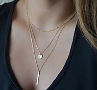 cheap -Women's Pendant Necklace Y-Necklace - Basic Fashion Y Shaped Necklace For Party Daily Casual