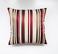 cheap -1 pcs Polyester Pillow Cover, Striped Traditional