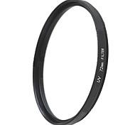 EMOBLITZ 72mm UV ultravioleta filtro protector de lente negro