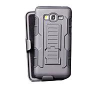DE JI TPU+PC 3 in 1 Armor Heavy Duty Rugged Impact Belt Clip Case Cover For Samsung Galaxy Grand Prime G530/Core Prime