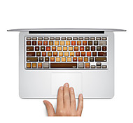 "Keyboard Decal Laptop Sticker Wood Pattern for MacBook Air 13"" MacBook Pro Retina 13'/15"" MacBook Pro15"" MacBook Pro 17"