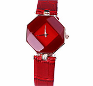 2016 Fashion Watch Women PU Leather Strap Quartz Watch Relogio Brand Women Dress Watch Clock
