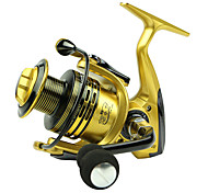 Spinning Reels 5.5/1 13 Ball Bearings Exchangable Bait Casting General Fishing-XF5000