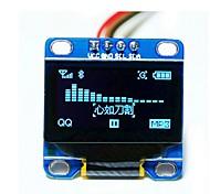 "cheap -0.96"" Inch Blue I2c IIC Serial 128x64 Oled LCD LED Display Module for Arduino 51 Msp420 Stim32 SCR"