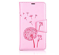 cheap -Dandelions Diamond Flip Leather Cases Cover For One Plus 3 Strap Wallet Phone Bags