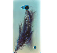 cheap -Case For Nokia Lumia 630 Nokia Nokia Lumia 530 Nokia Case Pattern Back Cover Feathers Soft TPU for