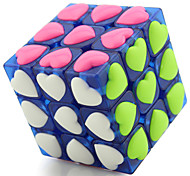 cheap -YONG JUN Magic Cube Toys Professional Level Speed Heart ABS Lovers Classic & Timeless Pieces Girls' New Year Children's Day Gift