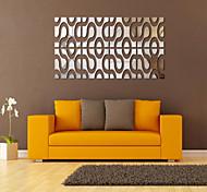 Отдых Наклейки Зеркальные стикеры Декоративные наклейки на стены,PVC материал Съемная Украшение дома Наклейка на стену