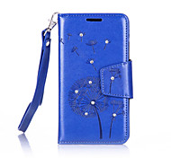 Dandelions Diamond Flip Leather Cases Cover For Lenovo A2010/A2020 Prime Strap Wallet Phone Bags