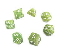 cheap -Exquisite Acrylic Dice (7 PCS)