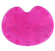 Silicone Multi Texture Surface Make Up Brush Cleaning Tool Set