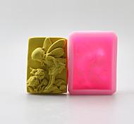 ангел форма шоколада силиконовые формы, формы торта, мыло формы, отделочные инструменты Формы для выпечки