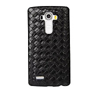 cheap -Case For LG LG K10 LG K7 LG G5 LG G4 LG Case Embossed Back Cover Geometric Pattern Hard PU Leather for