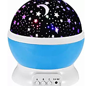 cheap -1set Moon Star Sky Projector NightLight Colorful AAA Batteries Powered USB For Children Dimmable with USB Cable Romantic Atmosphere Lamp