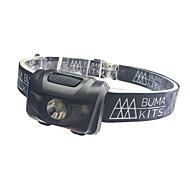 Налобные фонари / огни безопасности LED - Велоспорт Водонепроницаемый / Простота транспортировки AAA 180 Люмен Батарея