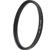 EMOBLITZ 37mm UV ultravioleta filtro protector de lente negro