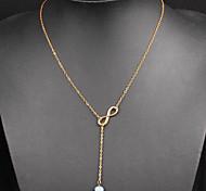 Недорогие -Жен. форма Для офиса На каждый день Мода Ожерелья с подвесками Сплав Ожерелья с подвесками Повседневные
