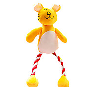 Cat Toy Dog Toy Pet Toys Plush Toy Squeaking Toy Teeth Cleaning Toy Squeak / Squeaking Plush For Pets
