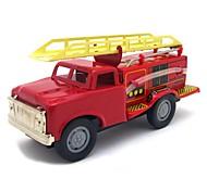 Недорогие -Инерционная машинка Игрушка с заводом Игрушечные машинки Поезд Пожарная машина Игрушки Шлейф Металл Куски Подарок