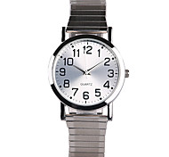 cheap -Women's Fashion Watch Quartz Water Resistant / Water Proof Stainless Steel Band Charm Silver