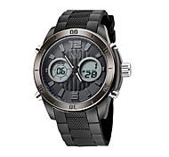 ASJ Мужской Спортивные часы электронные часы ЯпонскийLCD Compass Календарь Защита от влаги С двумя часовыми поясами Светящийся Хронометр
