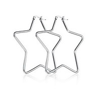Women's Fashion European Titanium Steel Star Jewelry For Daily Casual
