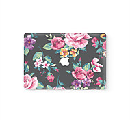 MacBook Front Decal Laptop Sticker Flower For MacBook Pro 13 15 17, MacBook Air 11 13, MacBook Retina 13 15 12