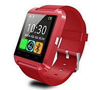 Men's Smart Watch Digital Touch Screen Remote Control Calendar Alarm Pedometer Fitness Trackers Stopwatch Rubber Band Cool Black