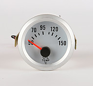 """cheap -IZTOSS car and motorcycle 2"""" 52mm LED Thermometer oil Temperature Temp Meter Gauge WITH SENSOR"""