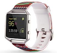 Недорогие -Красный / Зеленый / Желтый силиконовый Style trends+Silicone material Спортивный ремешок Для Fitbit Смотреть 23мм