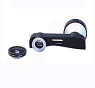 cheap -Apexel 3-in-1 180 Degree Fish Eye Lens + 10X Macro Lens and 5X Super Telephoto Lens Phone Camera Lens Kit for iPhone 6