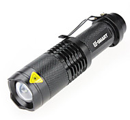 LED Flashlights / Torch Handheld Flashlights/Torch Laser 1000 lm 3 Mode - LED Mini Waterproof for Camping/Hiking/Caving Everyday Use