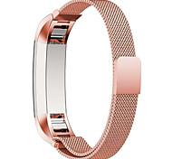 Kaffee / Schwarz / Blau / Rose / Gold / Silber Edelstahl Mailänder Schleife Für Fitbit Uhr 10mm